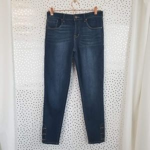 1822 Denim | Dark Wash Skinny Jeans | Size 6